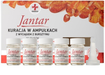 Ideepharm Medica Jantar Regenererande behandling För skadat och ömtåligt hår