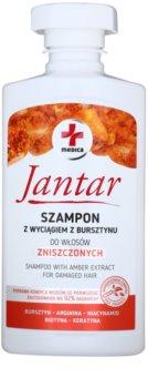 Ideepharm Medica Jantar šampon na poškozené vlasy