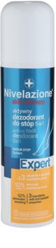 Ideepharm Nivelazione Expert aktivní deodorant na chodidla 5 v 1 ve spreji