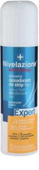 Ideepharm Nivelazione Expert aktivni dezodorant za stopala 5 v 1 v pršilu