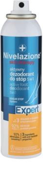 Ideepharm Nivelazione Expert 5 în 1 Deodarant activ pentru picioare Spray