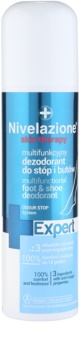 Ideepharm Nivelazione Expert dezodorant v pršilu za noge in čevlje