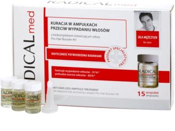 Ideepharm Radical Med Anti Hair Loss sérum de cuidado contra queda capilar para homens