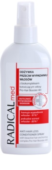 Ideepharm Radical Med Anti Hair Loss kondicionér ve spreji proti padání vlasů
