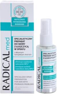 Ideepharm Radical Med Psoriasis cuidado calmante profissional para pele com psoríase