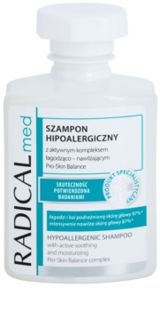 Ideepharm Radical Med Psoriasis shampoing hypoallergénique pour cuir chevelu souffrant de psoriasis