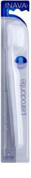 Inava Paradontie Toothbrush with Travel Cover For Sensitive Gums