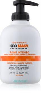 Inebrya Ice Cream KroMask maska na vlasy pre farbené a melírované vlasy