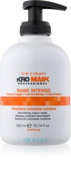 Inebrya Ice Cream KroMask maska za lase za barvane lase in lase s prameni