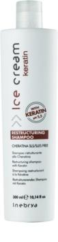 Inebrya Keratin restrukturalisierendes Shampoo mit Keratin