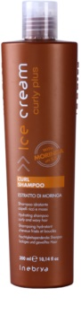 Inebrya Curly Plus shampoing hydratant pour cheveux bouclés