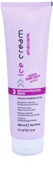 Inebrya Ice Cream Shecare intenzivně ošetřující maska pro suché, poškozené a chemicky ošetřené vlasy