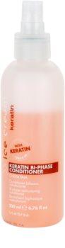 Inebrya Keratin 2-fázový bezoplachový kondicionér s keratínom