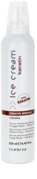 Inebrya Keratin pěna na vlasy s keratinem