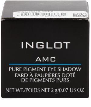 Inglot AMC sypké oční stíny s vysokou pigmentací