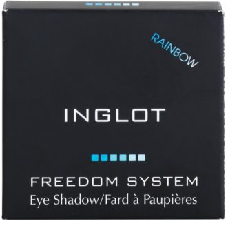 Inglot Freedom System Rainbow oční stíny duhové
