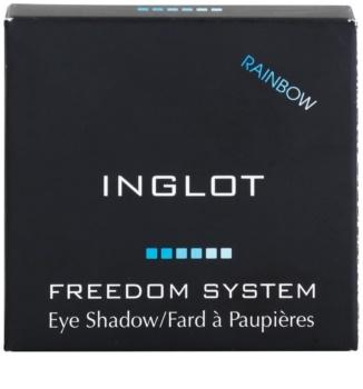 Inglot Freedom System Rainbow dúhové očné tiene
