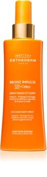 Institut Esthederm Bronz Impulse emulsione spray per viso e corpo per un'abbronzatura più veloce e duratura