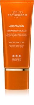 Institut Esthederm Adaptasun opaľovací krém na tvár s vysokou UV ochranou