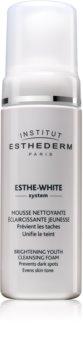 Institut Esthederm Esthe White čistiaca pena  s bieliacim účinkom