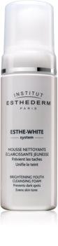 Institut Esthederm Esthe White čisticí pěna s bělicím účinkem
