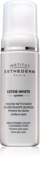 Institut Esthederm Esthe White čistilna pena z belilnim učinkom