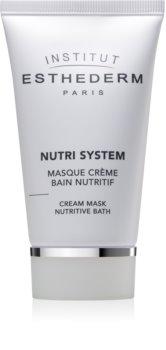 Institut Esthederm Nutri System výživná krémová maska s omladzujúcim účinkom