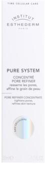 Institut Esthederm Pure System concentré pour lisser la peau et réduire les pores