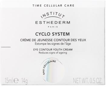 Institut Esthederm Cyclo System omladzujúci očný krém s okamžitým rozjasňujúcim a regeneračným účinkom