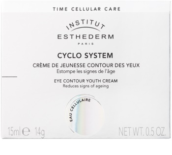 Institut Esthederm Cyclo System Rejuvenating Eye Cream with Instant Brightening and Regenerating Effect