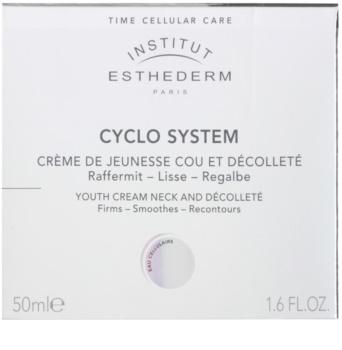 Institut Esthederm Cyclo System crema rejuvenecedora para cuello y escote