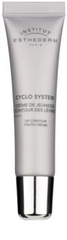 Institut Esthederm Cyclo System creme rejuivenescedor para contorno de lábios
