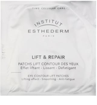 Institut Esthederm Lift & Repair vypínací oční maska ve formě náplasti