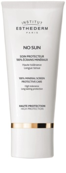 Institut Esthederm No Sun 100% Beschermende Mineralen crème voor gezicht en lichaam  met Hoge UV Bescherming