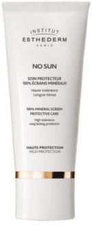 Institut Esthederm No Sun 100 % minerálny ochranný krém na tvár a telo s vysokou UV ochranou