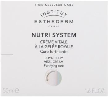 Institut Esthederm Nutri System подхранващ крем с пчелно млечице