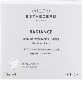 Institut Esthederm Radiance krém proti prvním známkám stárnutí pro rozjasnění a vyhlazení pleti