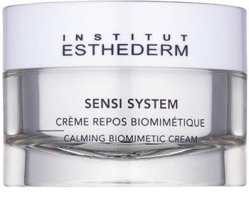 Institut Esthederm Sensi System crème apaisante biomimétique pour peaux intolérantes