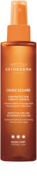 Institut Esthederm Sun Care Sun Oil for Body and Hair High Sun Protection
