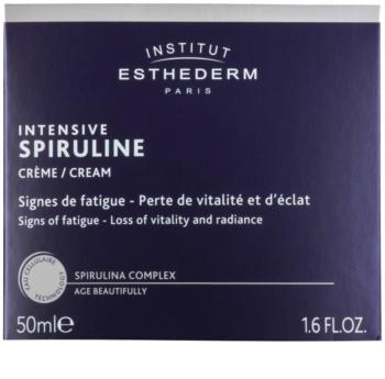 Institut Esthederm Intensive Spiruline hochkonzentrierte revitalisierende Creme zur Pflege müder Haut