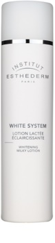 Institut Esthederm White System Cleansing Milk With Whitening Effect