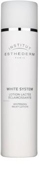 Institut Esthederm White System lait nettoyant effet blancheur
