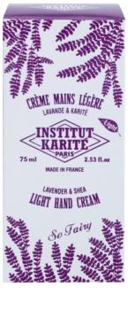 Institut Karité Paris So Fairy Lavender & Shea leichte Creme für die Hände