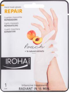 Iroha Repair Peach maska na ruky a nechty