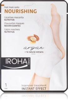 Iroha Nourishing Argan Regenerating mask for feet and nails