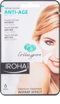 Iroha Anti - Age Collagen Anti-Wrinkle Mask for Eye Area and Lips