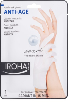 Iroha Anti - Age Pearl омолоджуюча маска для рук