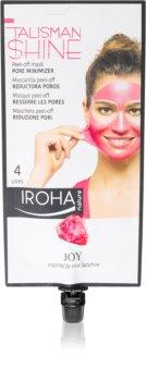 Iroha Talisman Shine Joy lehúzható maszk a bőr kisimításáért és a pórusok minimalizásáért