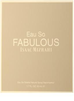 Isaac Mizrahi Eau So Fabulous toaletní voda pro ženy 50 ml