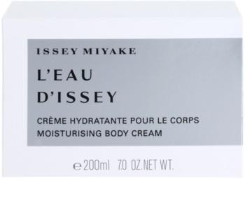 Issey Miyake L'Eau D'Issey tělový krém pro ženy 200 ml